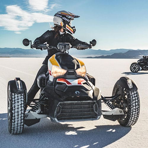 Can-am Ryker and Spyder